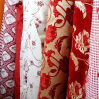tessuti, stoffe, scampoli, pezze dal strafarò a carré vicenza